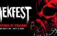The 21st Annual SHRIEKFEST Announces Its 2021 Dates!